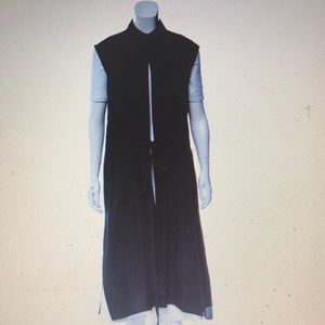 T BY ALEXANDER WANG sleeveless striped duster vest